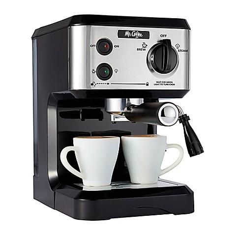 Mr Coffee Reg 19 Bar Pump Espresso Machine
