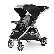 image of Chicco® BravoFor2™ Double Stroller in Zinc