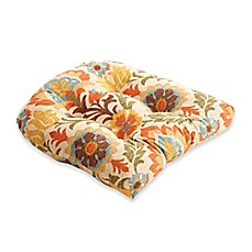 image of Pillow Perfect Santa Maria Chair Pad in Brown