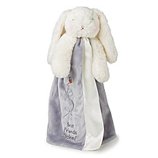image of Bunnies By The Bay™ Bloom Bunny Buddy Blanket in Grey