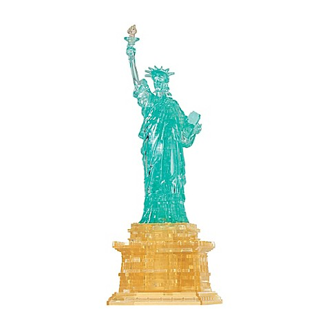 Bepuzzled 69 piece statue of liberty 3d crystal puzzle - 3d home architect design deluxe 8 tutorial ...