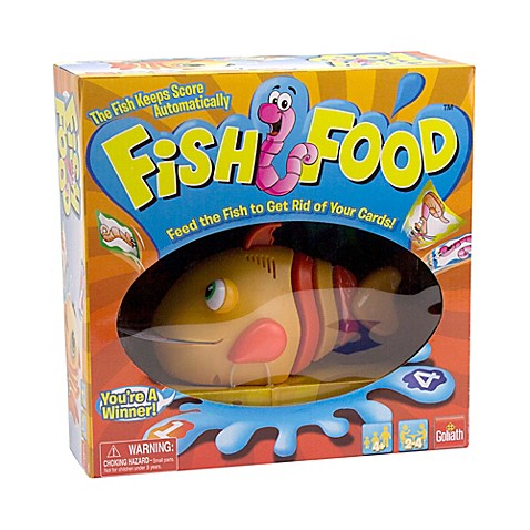 buy goliath fish food game from bed bath beyond