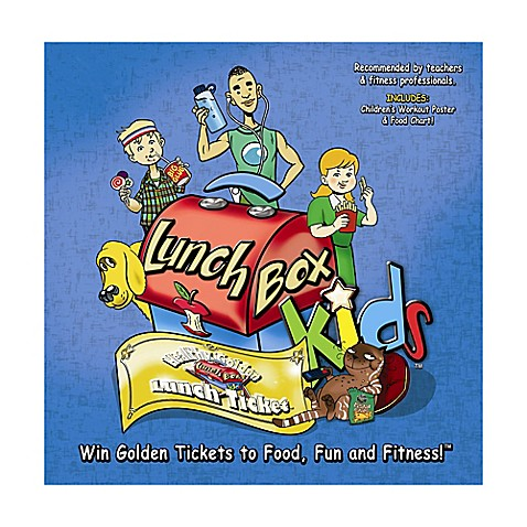 Lunch Box Kids™ Health & Fitness Educational Board Game