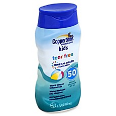 image of Coppertone® Kids Tear Free 6 fl. oz. Sunscreen Lotion with Broad Spectrum SPF 50