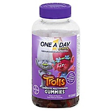 image of One A Day® Kids 180-Count Complete Multivitamin Trolls Gummies