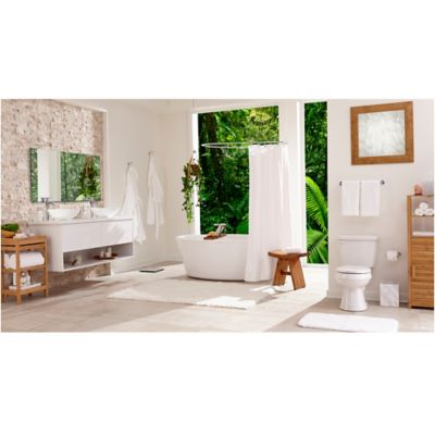 soothing chic spa bathroom bed bath beyond