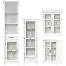 image of Elegant Home Fashions Lafayette Cabinet Collection in White
