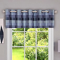 Image Of Achim Harvard Kitchen Window Valance