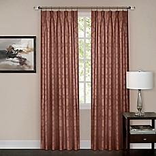 Windsor Pinch Pleat Rod Pocket Back Tab Window Curtain Panel