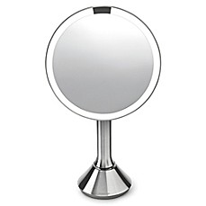 "image of simplehuman 8"" Sensor Mirror with Touch-Control Brightness"