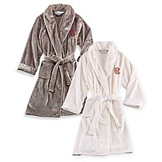 image of Wamsutta® Plush Initial Robe