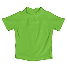 image of My SwimBaby® UV Shirt in Lime Green