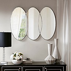 Madison Park Signature Eclipse 30 Inch X 40 Inch Wall Mirror In Antique  Silver