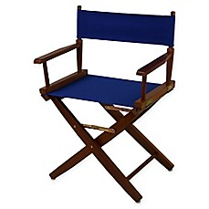 American Trails Extra Wide Premium 18 Inch Directors Chair With Oak Finish