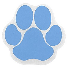 image of SlipX Solutions Adhesive Paw Print Bath Treads (Set of 6)