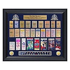 image of MLB New York Yankees World Series Deluxe Gold Coin & Ticket Collection Photo Mint