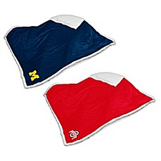 image of Collegiate Sherpa Throw Blanket