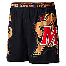 image of University of Maryland Logo Boxer