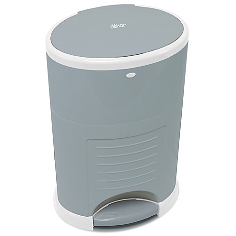Dekor kolor plus diaper disposal pail buybuy baby for Dekor mini diaper pail