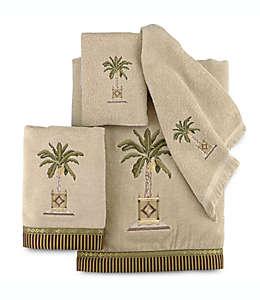 Toalla fingertip de algodón Avanti Banana Palm® color lino