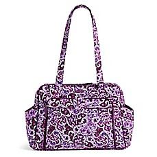 image of Vera Bradley® Stroll Around Baby Bag in Lilac Paisley