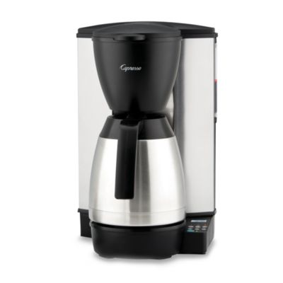 Capresso MT600 Plus 10-Cup Programmable Coffee Maker with Thermal Carafe - Bed Bath & Beyond