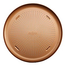 image of T-Fal® Airbake Nonstick 16-Inch Copper Pizza Pan