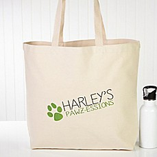 image of My Pawz-essions Dog Tote Bag