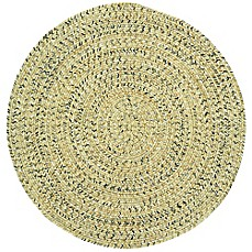 image of Capel Rugs Sea Pottery Indoor/Outdoor Round Rug in Sandy Beach