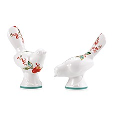 image of Simply Fine Lenox® Chirp™ Figural Salt and Pepper Set