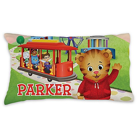 Daniel Tiger Trolley Pillowcase In Green Buybuy Baby
