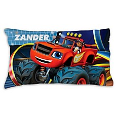 image of Blaze and the Monster Machines Racing Pillowcase in Blue