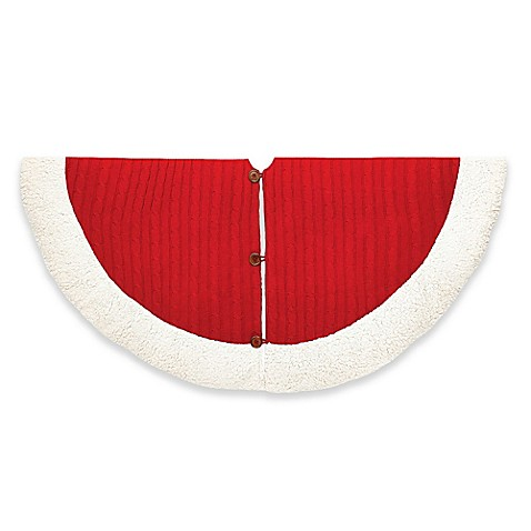 Cable Knit Tree Skirt Bed Bath And Beyond