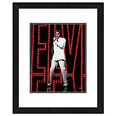 image of Elvis Presley 22-Inch x 26-Inch Framed Photo