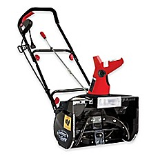 image of Snow Joe Ultra 18-Inch 13.5-Amp Electric Snow Thrower with Light in Red