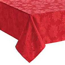 image of Bardwil Linens Winter Joy Tablecloth