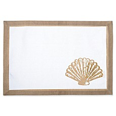 image of Shell Canvas Placemat in Natural