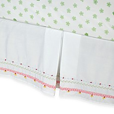 image of Whistle & Wink™ Butterly Party Twin Bed Skirt