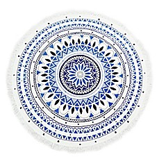 image of Medallion Round Beach Towel