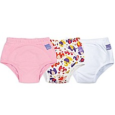 image of Bambino Mio® 3-Pack Elephant Potty Training Pants in Pink