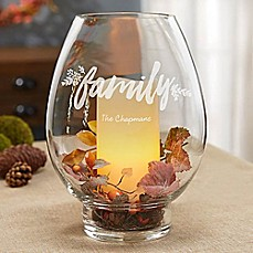 image of Cozy Home Glass Hurricane Holder
