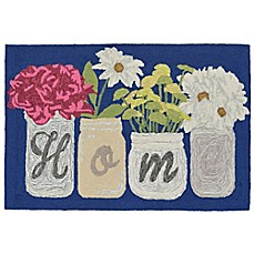 image of Liora Manne Front Porch Home Sweet Home Accent Rug