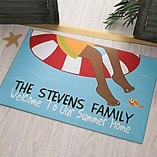 Summer Fun Door Mat