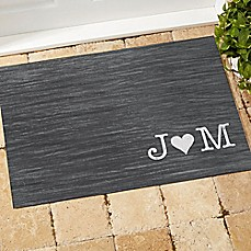 image of Family Initials Door Mat