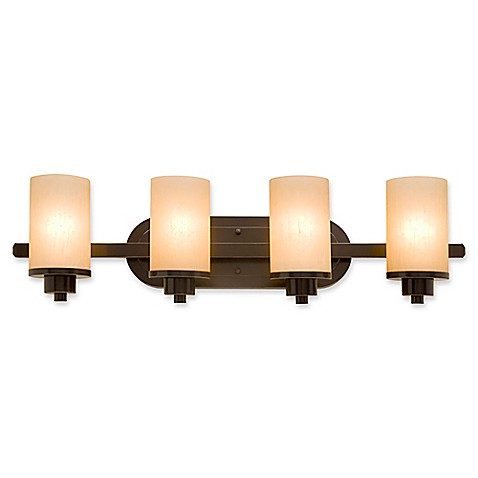 Buy artcraft lighting 4 light wall mount bath vanity light for Bathroom vanity lights oil rubbed bronze