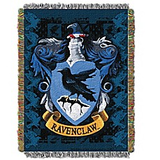 image of Warner Brothers® Harry Potter Ravenclaw Woven Tapestry Throw Blanket