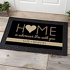 image of Home With You Door Mat
