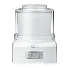 image of Cuisinart® Ice Cream/Frozen Yogurt Maker in White
