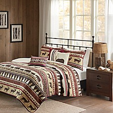 High Quality Image Of Madison Park Missoula Herringbone Coverlet Set