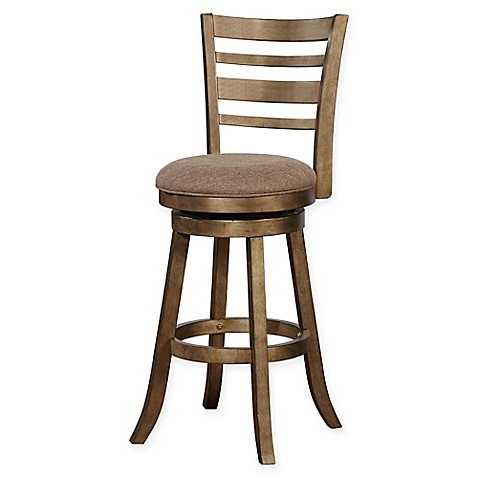 Buy Linon Home Southern Wood Swivel Bar Stool With Golden
